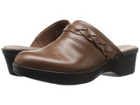Easy Spirit Pabla Dark Natural Leather Women's Shoes Brown