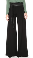 Getting Back To Square One Palazzo Pants Black