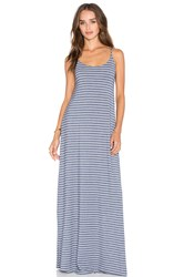 Bella Luxx Low Back Maxi Dress Blue