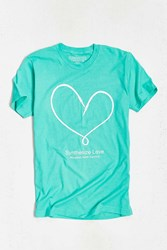 Urban Outfitters Moogfest 2016 Synthesize Love Tee Mint