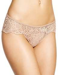 Else Crochet Lace Brief Ec 321U Nude