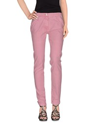 Annarita N. Denim Denim Trousers Women Pastel Pink