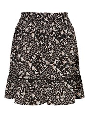 Miss Selfridge Patchwork Rara Skirt Multi Coloured