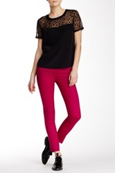 The Kooples Color Block Trouser Pink