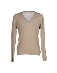 Maestrami Knitwear Jumpers Men Dove Grey