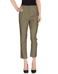 8Pm Trousers Casual Trousers Women Military Green