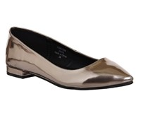 Office Peach Point Pumps Gold