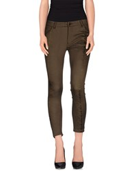 Hotel Particulier Trousers Casual Trousers Women Military Green