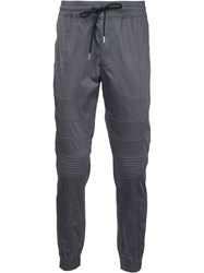 Stampd Cuffed Trousers Grey