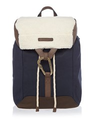 Tommy Hilfiger Shearling Utility Backpack Midnight