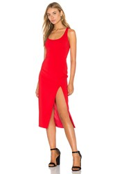 Jay Godfrey Witherspoon Dress Red