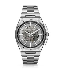 Michael Kors Wilder Automatic Silver Tone Watch