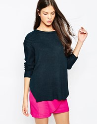 Finders Keepers Lucky One Knit Jumper Navy