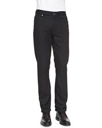 Ermenegildo Zegna Cotton Cashmere Denim Jeans Navy
