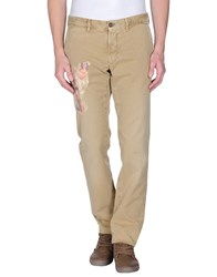 Incotex Red Trousers Casual Trousers Men Sand