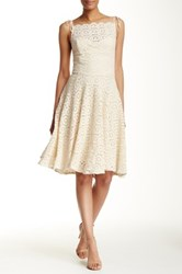 Eva Franco Sessoon Lace Dress White