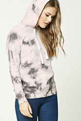 Forever 21 Tie Dye Print Hoodie