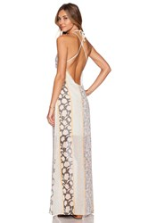 Tularosa Monroe Halter Dress Yellow
