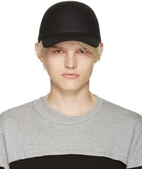 Comme Des Garcons Grey Felted Wool Cap