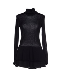 Class Roberto Cavalli Turtlenecks Black