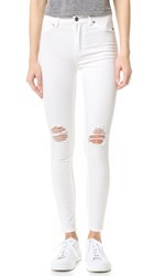 Cheap Monday The High Spray Jeans White Repair