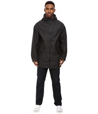 Converse Rubber Fishtail Parka Black Men's Coat