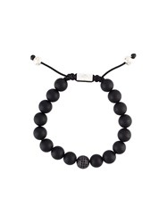 Nialaya Jewelry Beaded Bracelet Black
