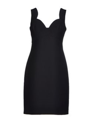 Prada Short Dresses Black