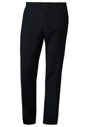 Burton Menswear London Suit Trousers Navy Dark Blue