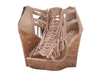 Not Rated Honey Buns Nude Women's Wedge Shoes Beige