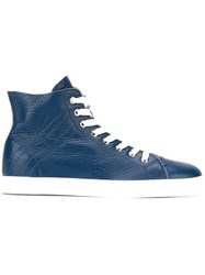 Hogan Rebel Hi Top Sneakers Blue