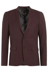 The Kooples Wool Blazer Red