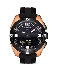 Tissot Nba T Touch Expert Solar Watch 45Mm Black Rose