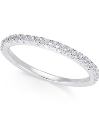 Macy's Diamond Band 1 4 Ct. T.W. In 14K White Gold