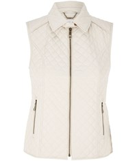 Cc Quilted Gilet Beige