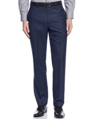 Calvin Klein Slim Fit Solid Dress Pants Navy