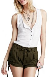 Women's Free People 'Melvin' Cotton Cargo Shorts