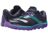 Brooks Puregrit 5 Peacoat Passion Flower Ceramic Women's Running Shoes Black
