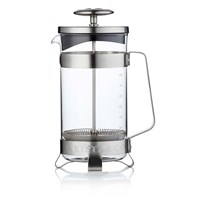 Barista And Co Plunge Pot 8 Cup Electric Steel