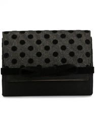 Jimmy Choo 'Bow' Clutch Black