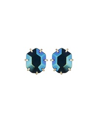 Kendra Scott Morgan Iridescent Crystal Earrings Black