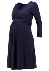 Isabella Oliver Avebury Jersey Dress Darkest Navy Dark Blue