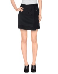 Cameo Skirts Mini Skirts Women Black