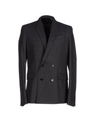 Blk Dnm Coats And Jackets Coats Men Steel Grey