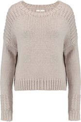 Joie Blaisie Knitted Sweater Gray