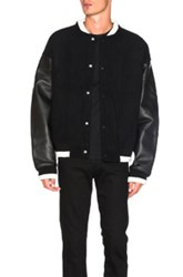 Alexander Wang Bomber Jacket In Black