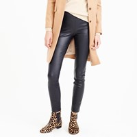 J.Crew Collection Petite New Leather Leggings