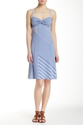 Tommy Bahama Lucca Lines Short Dress Blue