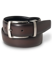Perry Ellis Burnished Edge Big And Tall Belt