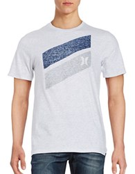 Hurley Cotton Logo Tee Birch